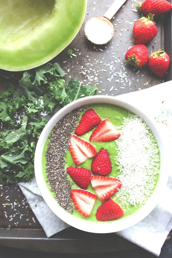 Honeydew Smoothie Bowl-The Almond Eater