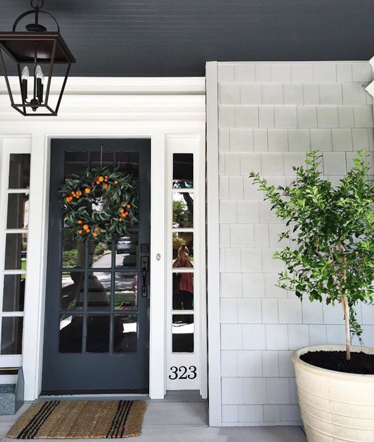 The Perfect Paint Schemes for House Exterior | Exterior, Front doors ...