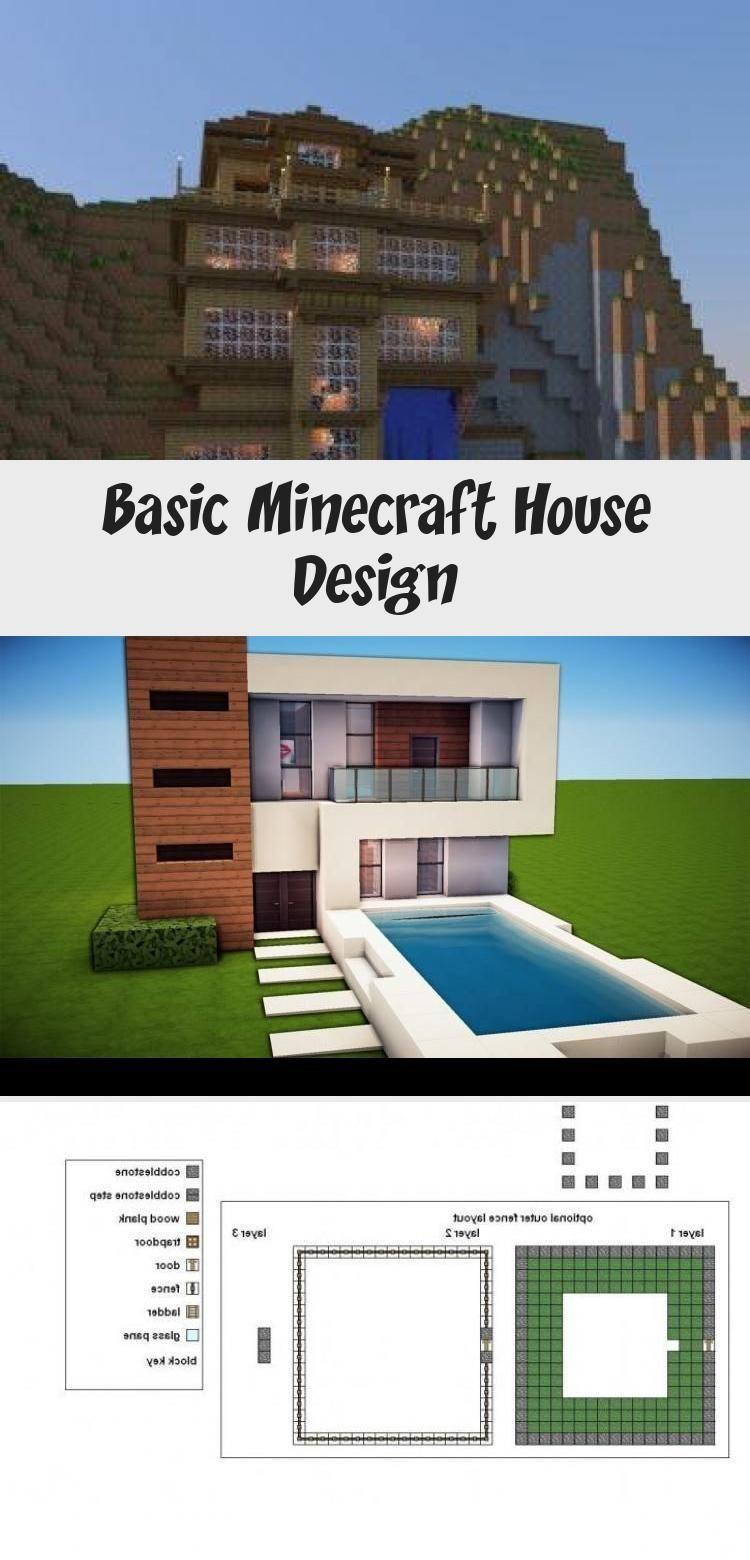 Basic Minecraft House Design In 2020 Minecraft House Designs