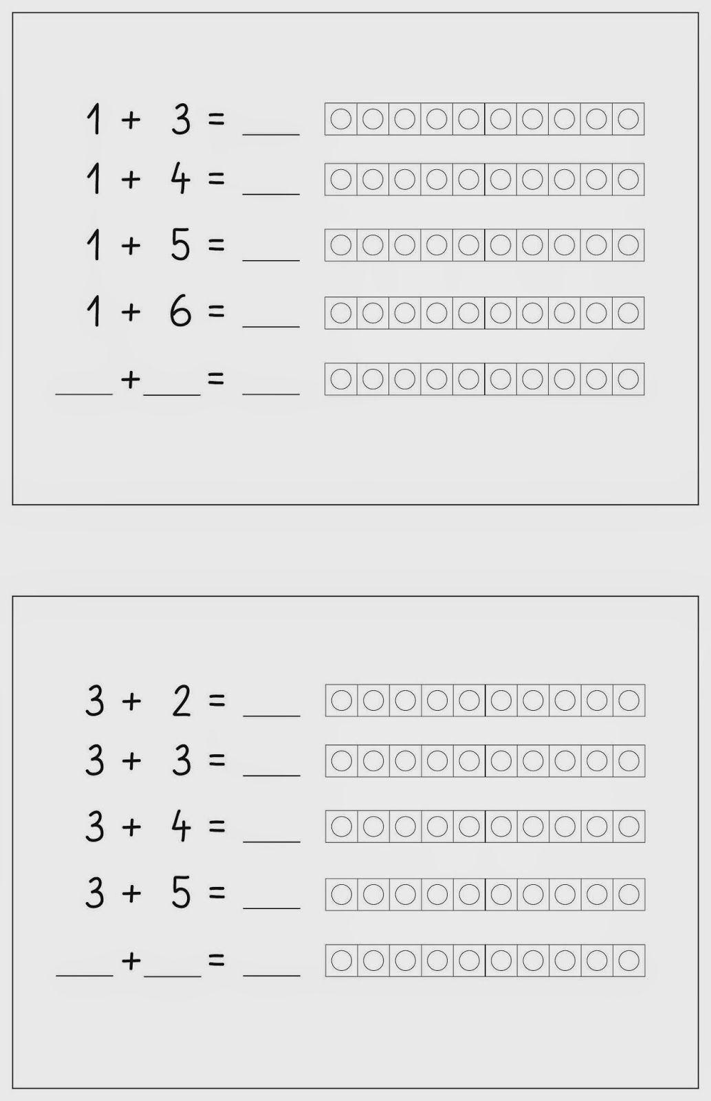 Aufgabenmuster Plus Fu 12