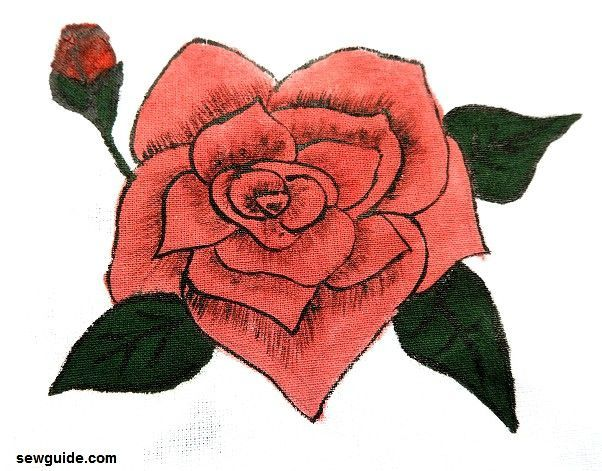 How to draw and paint a {ROSE} : 6 easy designs | Drawings, Painting, Rose step by step