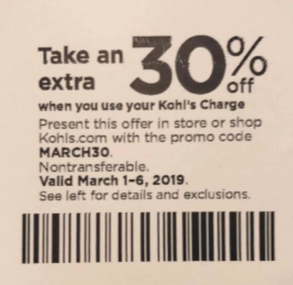 It is a graphic of Transformative Kohls Printable Coupon 15