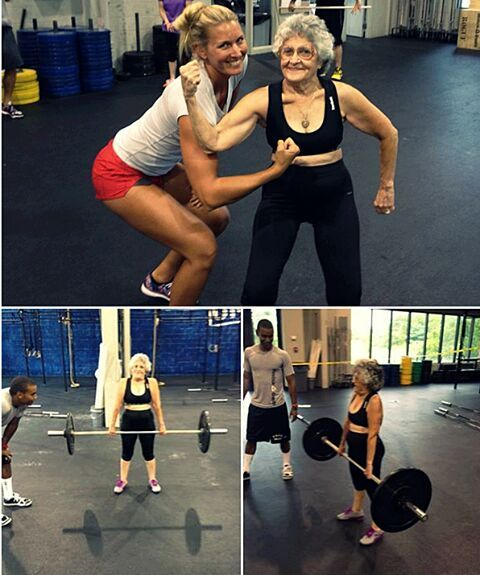 Weight Lifting Granny   If she can ... You Can Too!!!  inspiration, motivation, quotes, self development, happiness #fastsimplefit  Get Free Fitness and Weight Loss News and Tips by Liking Us on: www.facebook.com/FastSimpleFitness