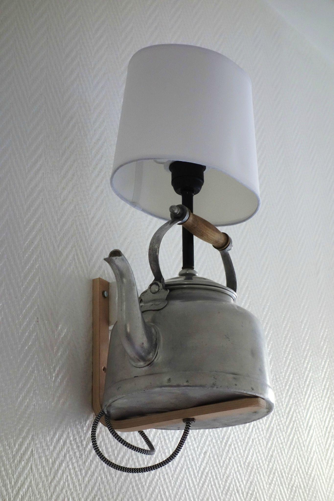 un petit café? - la semaine des 4 jeudis | théières, appliques et lampes