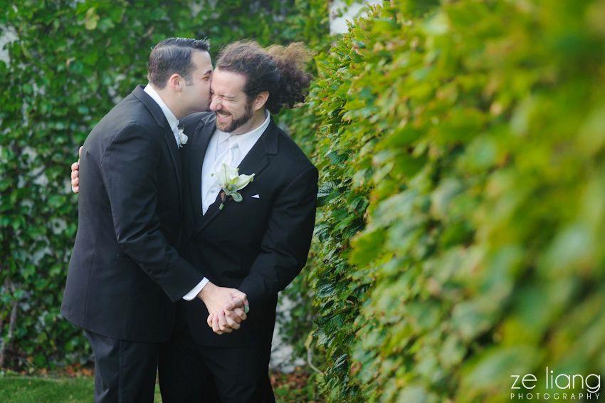 Modern Same-Sex Wedding in Rhode Island – Happy Anniversary Andrew & Max
