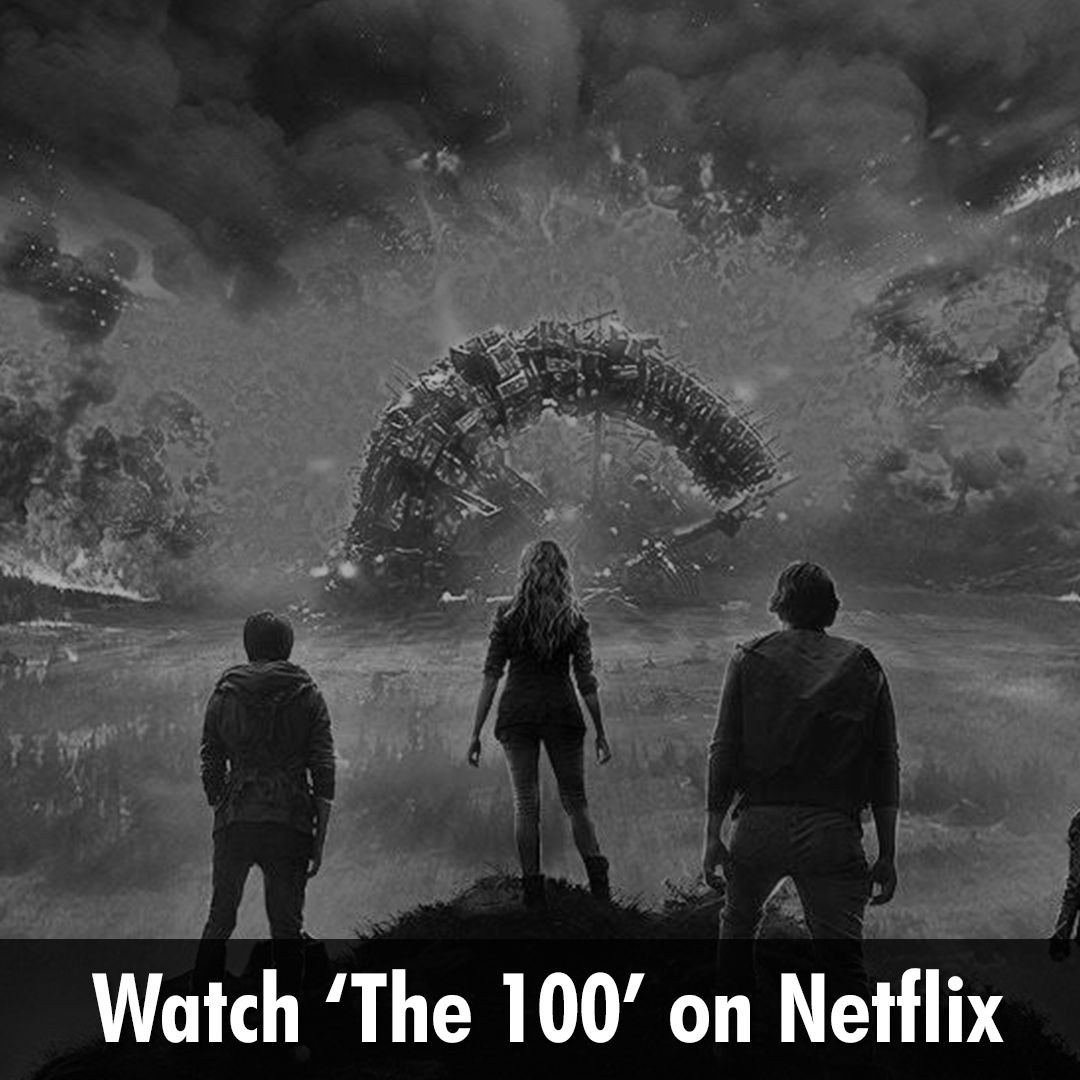 The 100 is an #American_Fitction_Series is telecasted on netflix