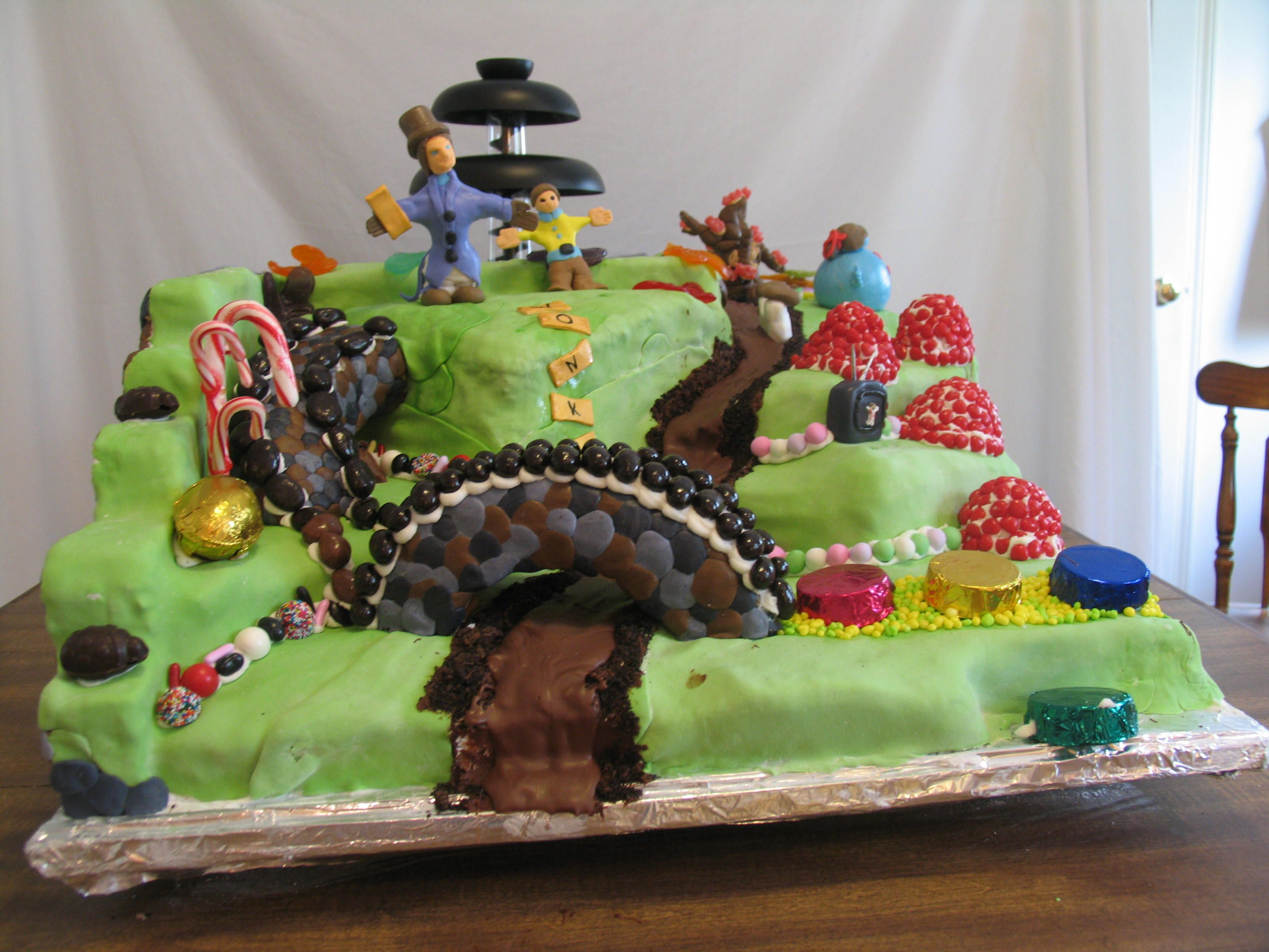 161 best Cakes - Willy Wonka & the Chocolate Factory images on ...