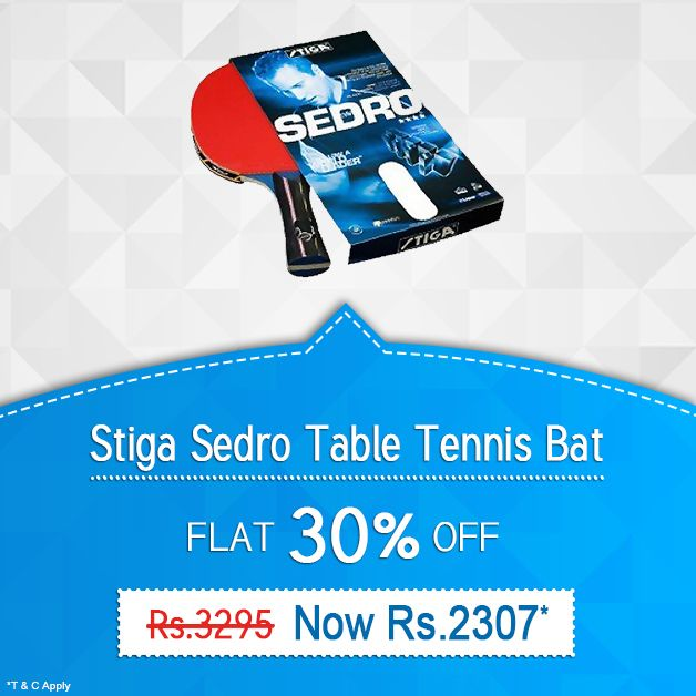 Flat 30% Discount On Online Purchase Of Stiga Sedro Table ...