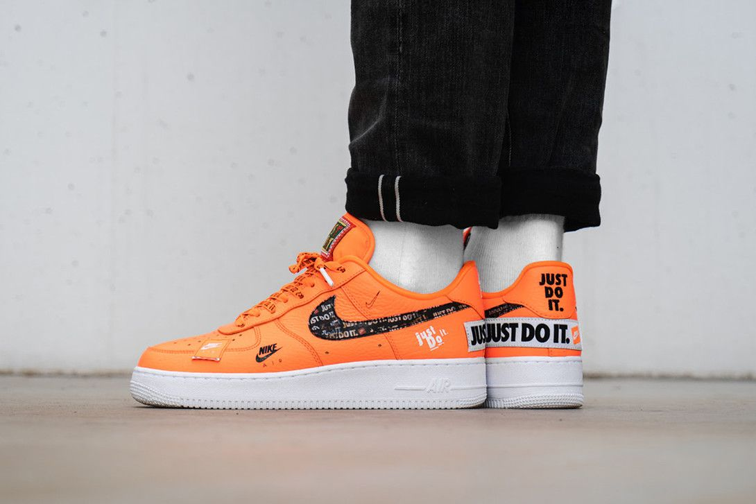 An On Foot Look At Nike S Air Force 1 Just Do It Pack Nike Air