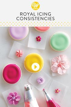How to Make and Use the Right Royal Icing Consiste