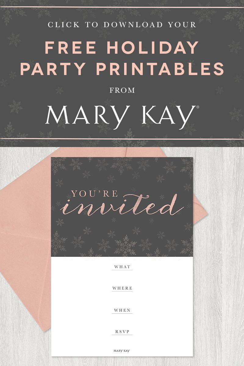 Tis the season to party! Extend a stylish invitation to your guests ...