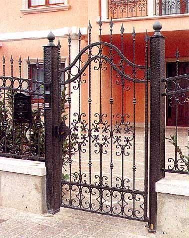 Fotos de portones en fierro forjado dise o exclusivo - Puertas de metal para casas ...
