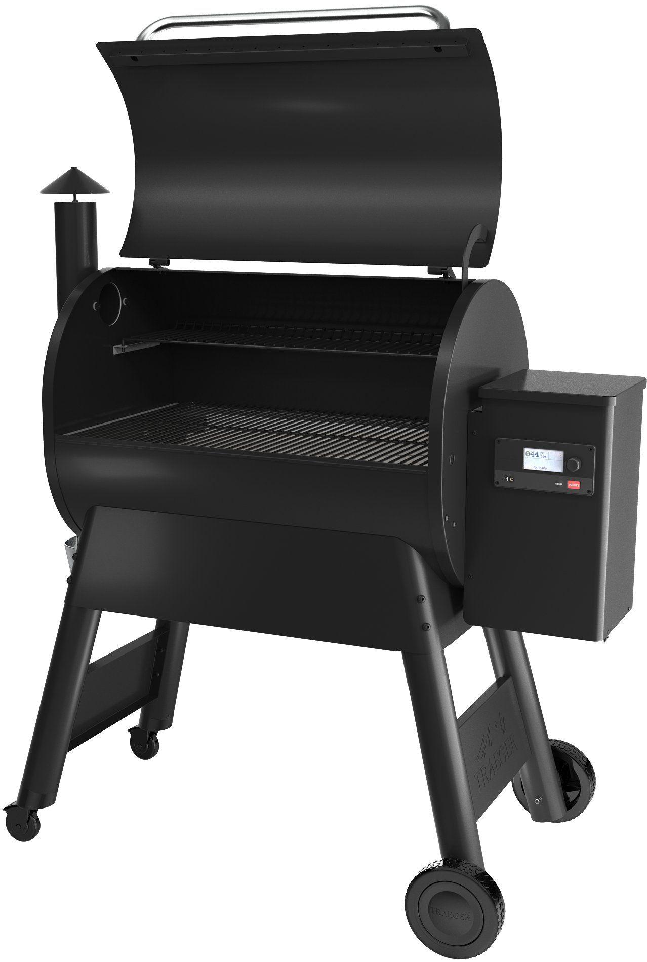 Traeger Pro 780 Black Pellet Grill 2nd Generation Pellet