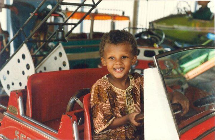 Stromae quand il était petit #Stromae #musique #belgique