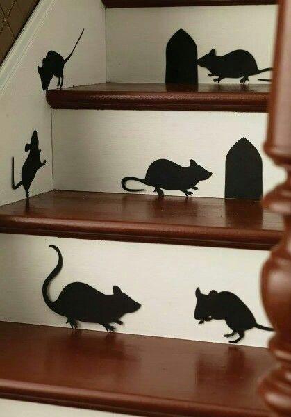 Staircase decal! Dream Home Design Pinterest Staircases and - martha stewart halloween ideas