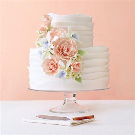 Whimsical Waves Cake