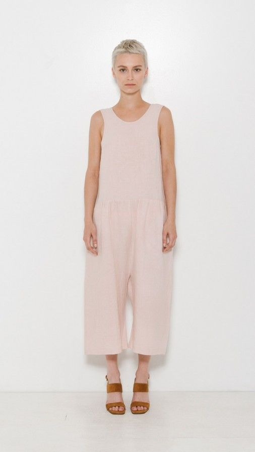 Ilana Kohn Samet Jumpsuit in Blush | The Dreslyn