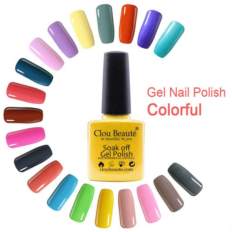 Gel Lacquer 79 Colors Clou Beaute 10ml Nail Art Products Gel UV ...