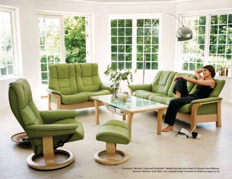 Stressless Paloma Green 09490 Leather By Ekornes Stressless Paloma Green 09490 Leather Chairs Recliners Stressless Furniture Furniture Best Leather Sofa
