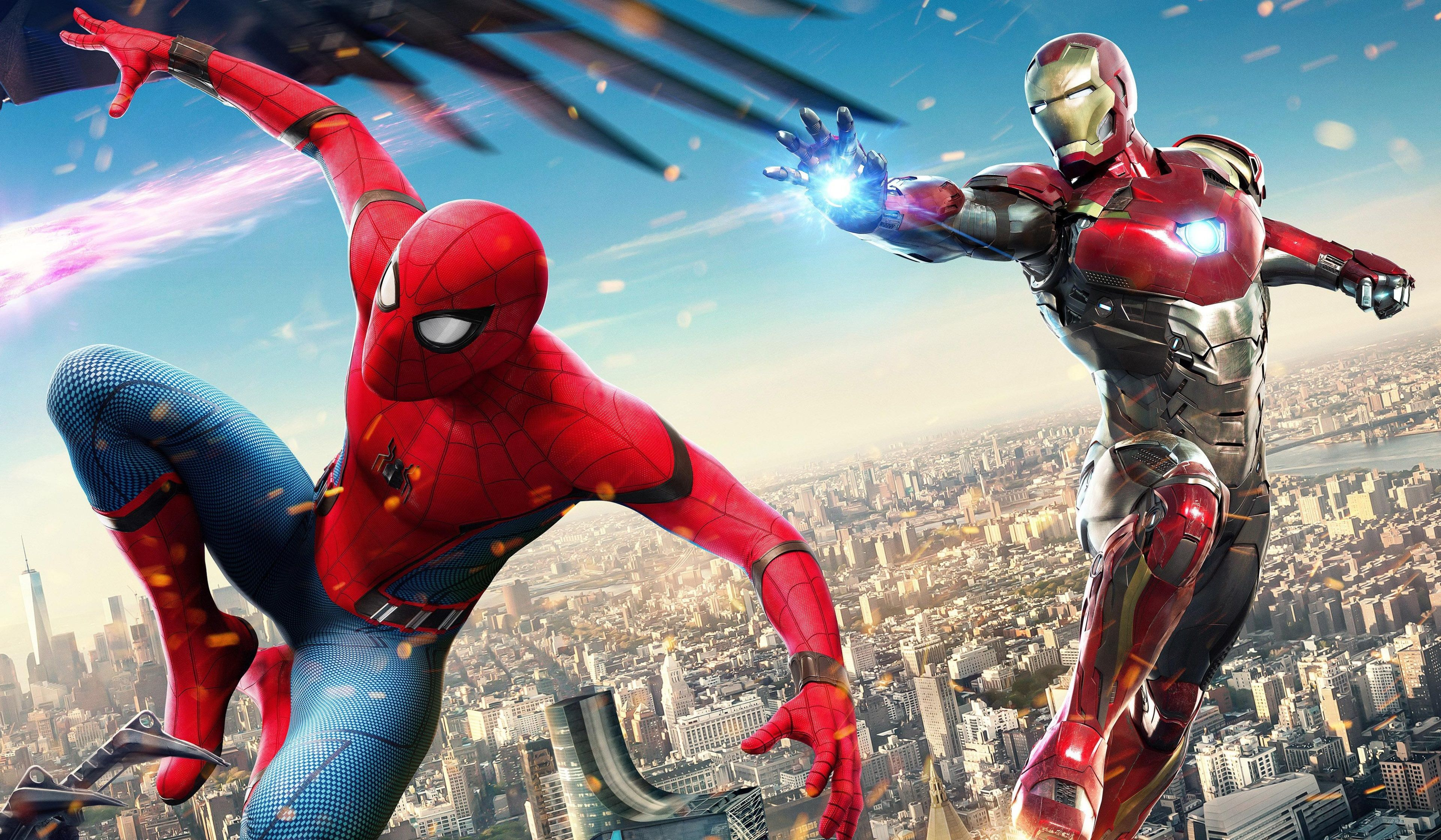 3840x2240 Spiderman Homecoming 4k Hd Image Download Iron Man Spiderman Spiderman Homecoming Spiderman