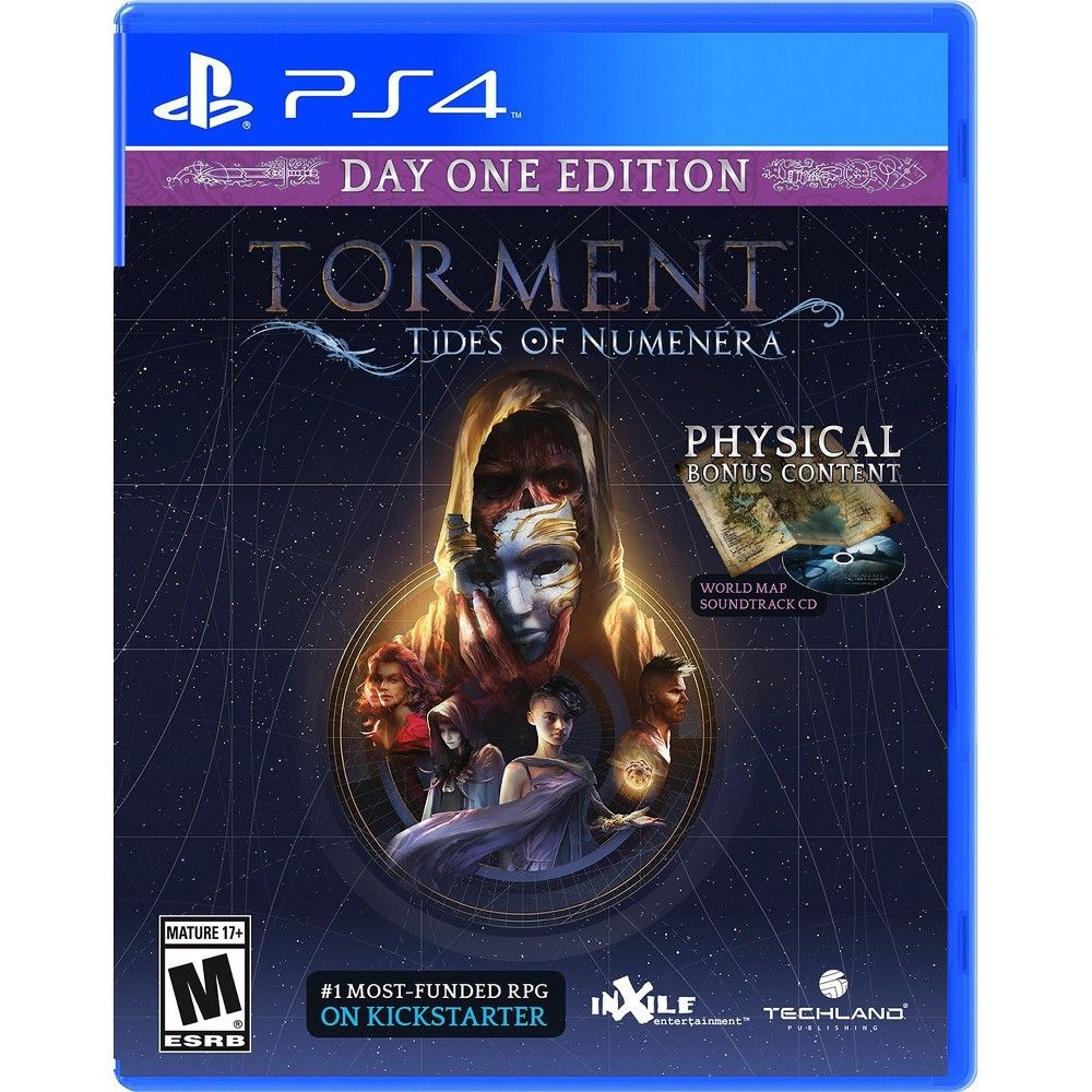 Torment Tides Of Numenera Day One Edition Playstation 4 Torment