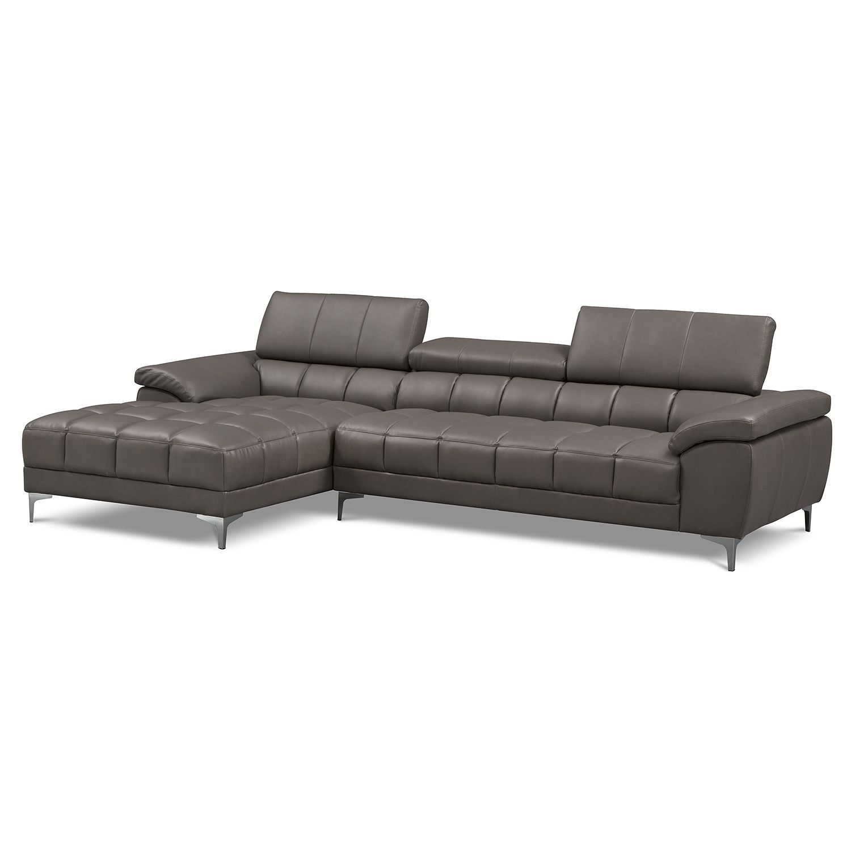 value city sectional sofa. Sabrina II 2 Pc. Sectional (Reverse) | Value City Furniture Sofa A