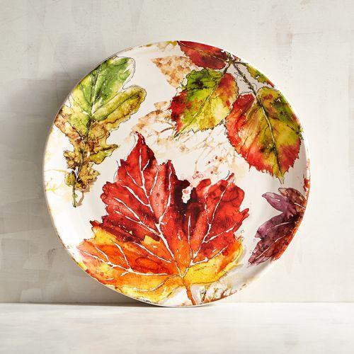 Wildwood Leaves Salad Plate