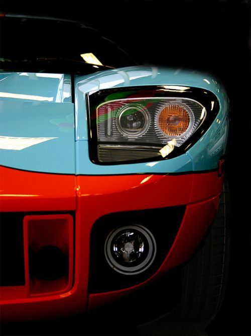 Ford GT in Gulf Oil Colors
