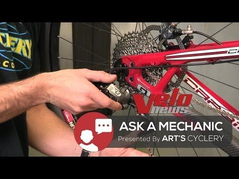 Ask A Mechanic Setting Up A Rear Disc Brake Wheel For Quick
