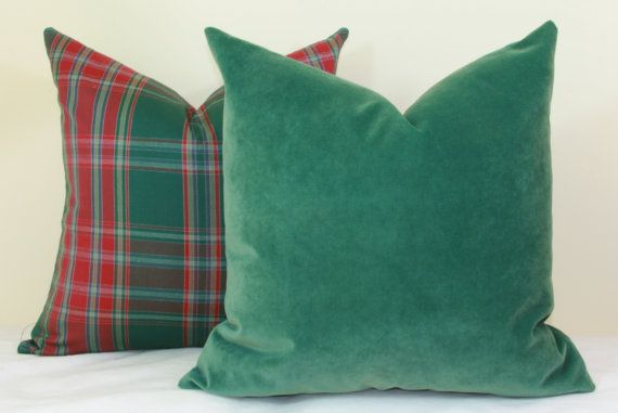 26X26 Pillow Insert Classy Forest Green Velvet Throw Pillow Cover 18X18 20X20 22X22 24X24 26X26 Decorating Design