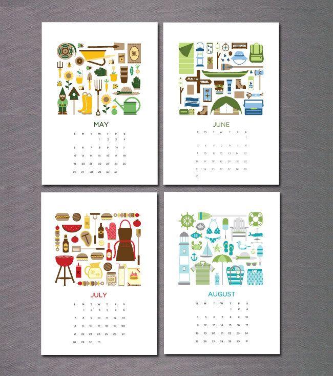 2013 Calendar Kalendar Illyustracii Kartinki