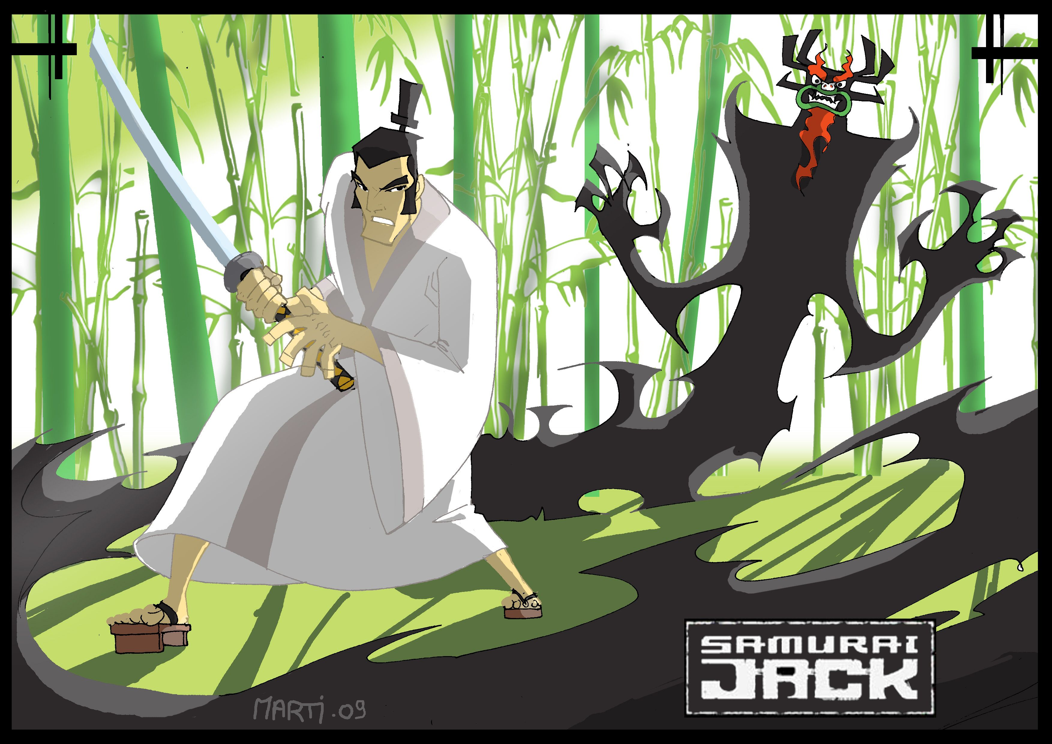 samurai jack desktop hd wallpape Samurai Jack