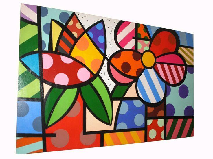 Pinturas de romero britto fotos buscar con google - Fotos de cuadros modernos ...