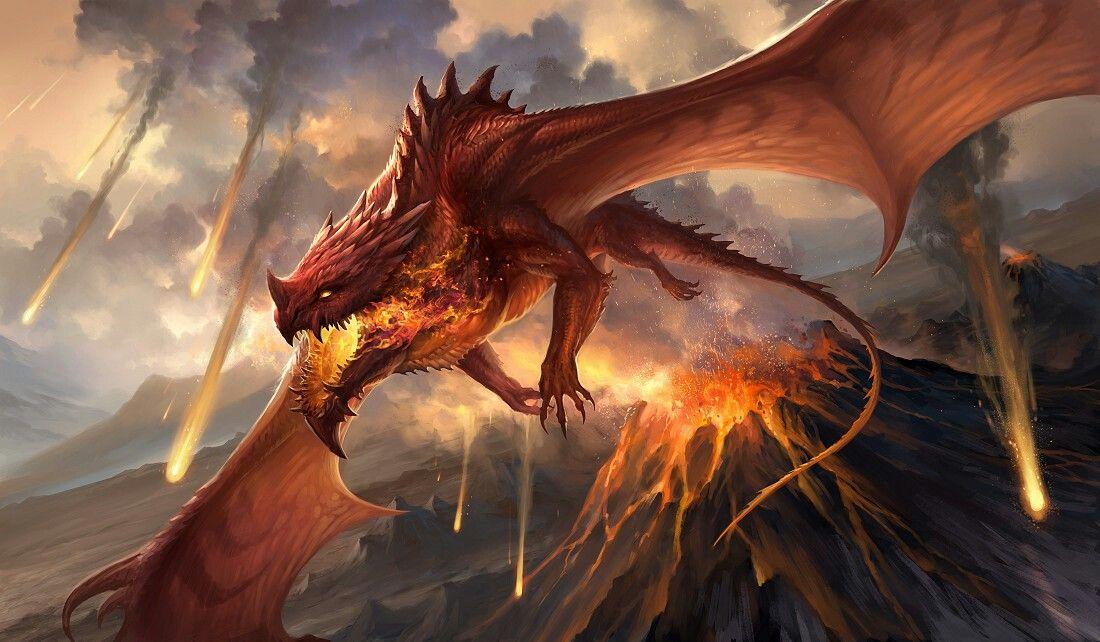 Pin By Alex Alpha On Dragons Red Dragon Black Dragon Beast