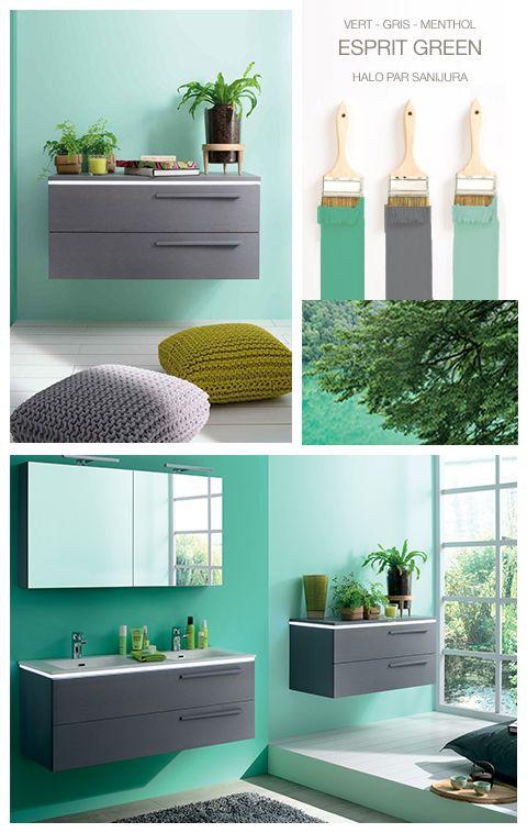Choisissez une d coration tropicale pour votre salle de bain associez le vert de vos murs avec - Salle de bain tropicale ...