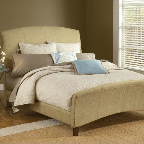 Quincy Upholstered Sleigh Bed | Camas