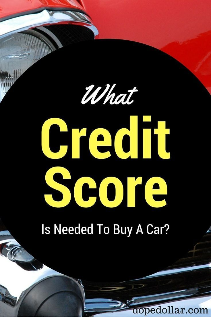 What is the best credit score to have to buy a car