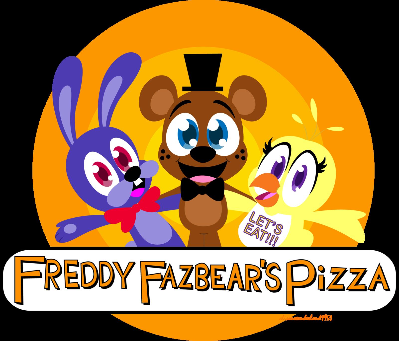 Freddy frazbears pizza phone number - Freddy Fazbear S Pizza Logo By Alisonwonderland1951 Deviantart Com