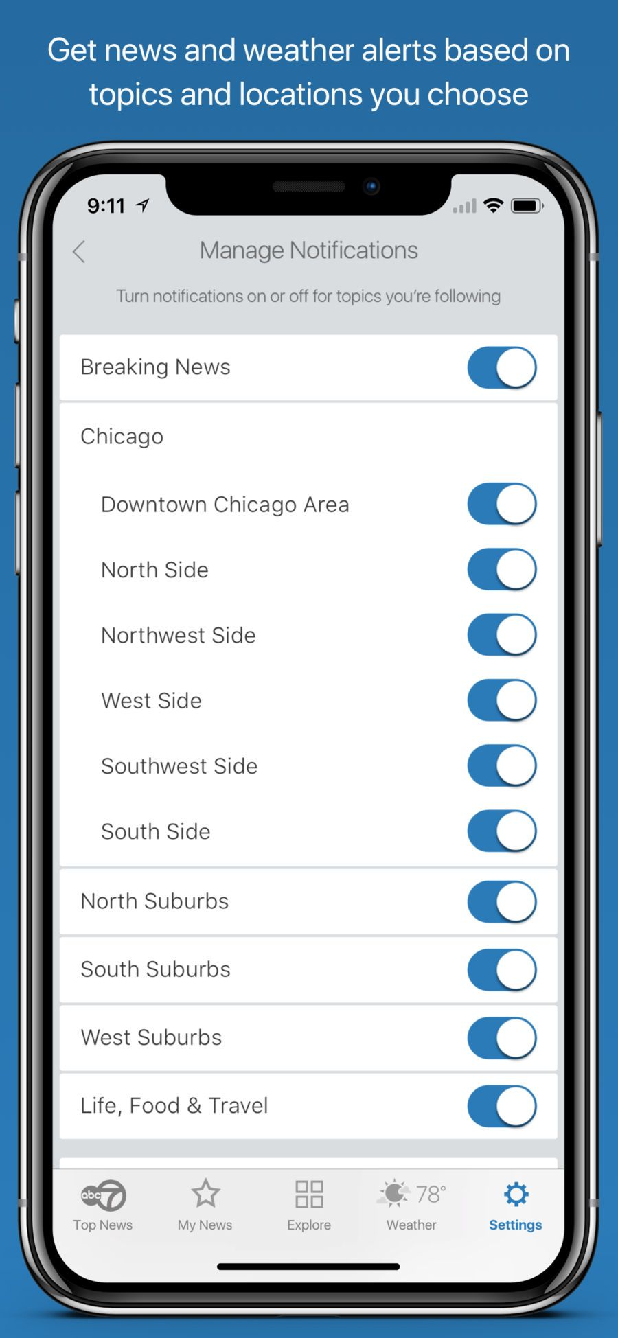 ABC7 Chicago News #Weather#Digital#apps#ios | iphone game