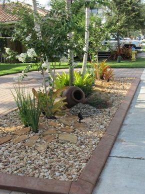 Garten mit kies bilder  Vorgarten mit Kies gestalten - Bilder und Tipps für Sie | Wohnen ...