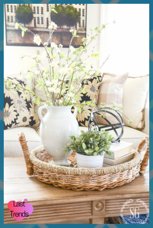 How To Decorate For Spring After Easter Here Are Lucy Blog Decorate Easter Hobby Lobby Decor Hob In 2020 Spring Home Decor Spring Decor Summer Living Room Decor
