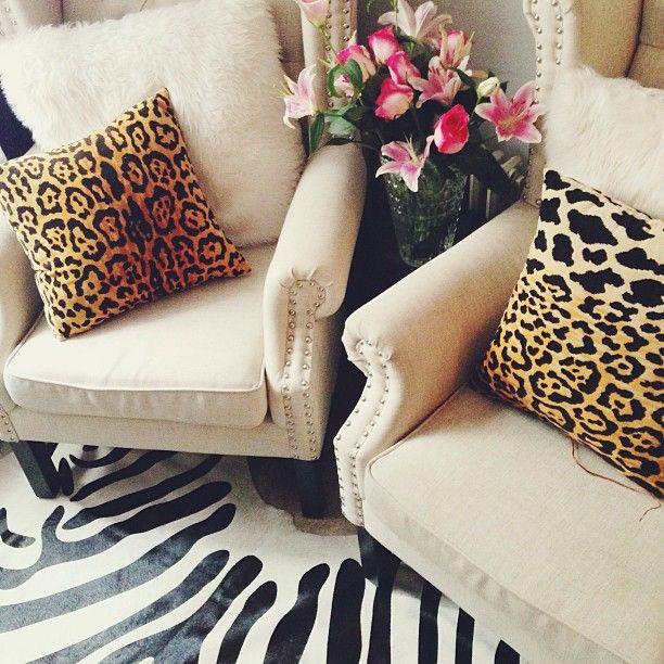 Mixing Animal Prints Home Decor Home Interior