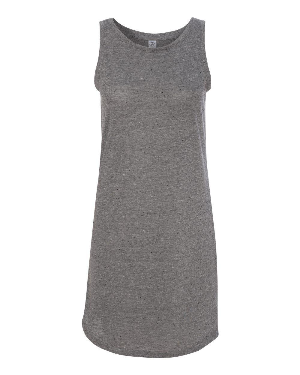 2828 Alternative - Women's Eco Nep Jersey Nautical Tank Dress