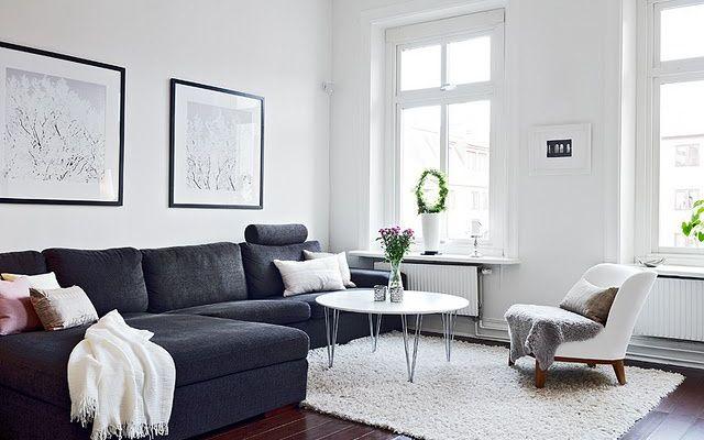 cómo decorar el salón con un sofá chaiselongue | living room