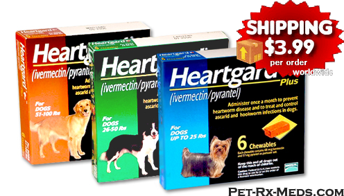 Discount Heartgard Plus for Dogs buy as low as 19.95