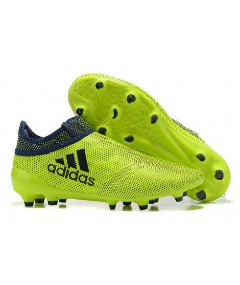 online store 5fe76 c5f8a Adidas X 17 PureChaos FG PEVNÝ POVRCH Kopačky Žlutý Černá