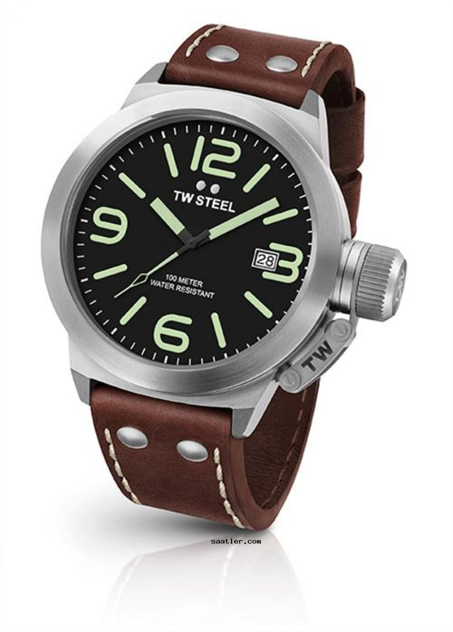 Tw Steel Cs21 Erkek Kol Saati Horloge Wijzerplaat Vintage