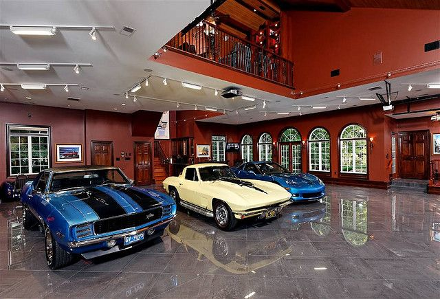 Brick 6 Car Garage I Want The Cars To Come With It Dream Car Garage Garage Design Garage Pictures