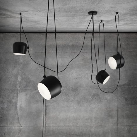 Aim Modern Hanging Light Fixtures By Bouroullec Brothers Flos