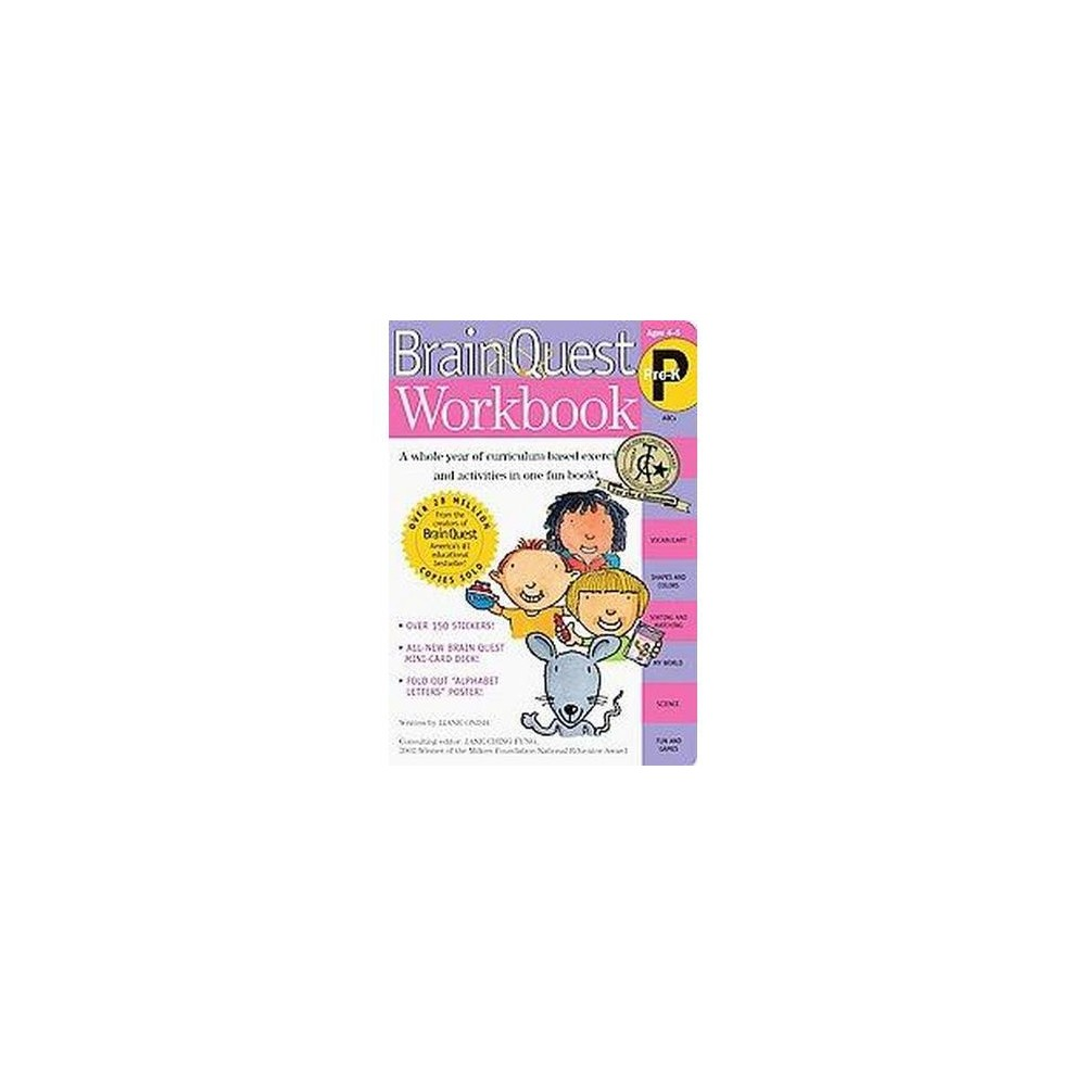 Workbooks prek workbooks : Brain Quest Workbook Pre-K ( Brain Quest) (Mixed media product) by ...
